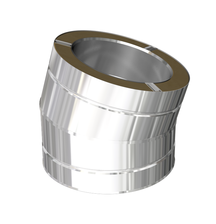 15º elbow with locking band