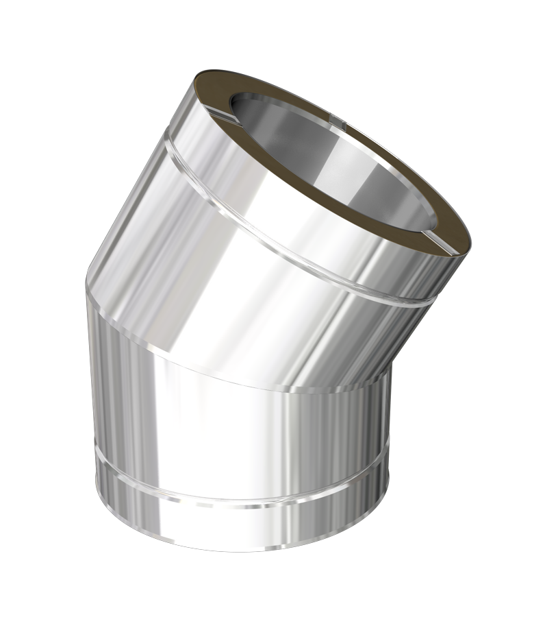 30º elbow with locking band