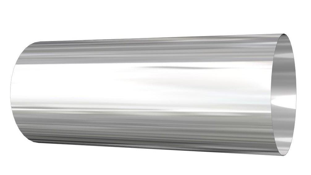 Wall sleeve 0º silver