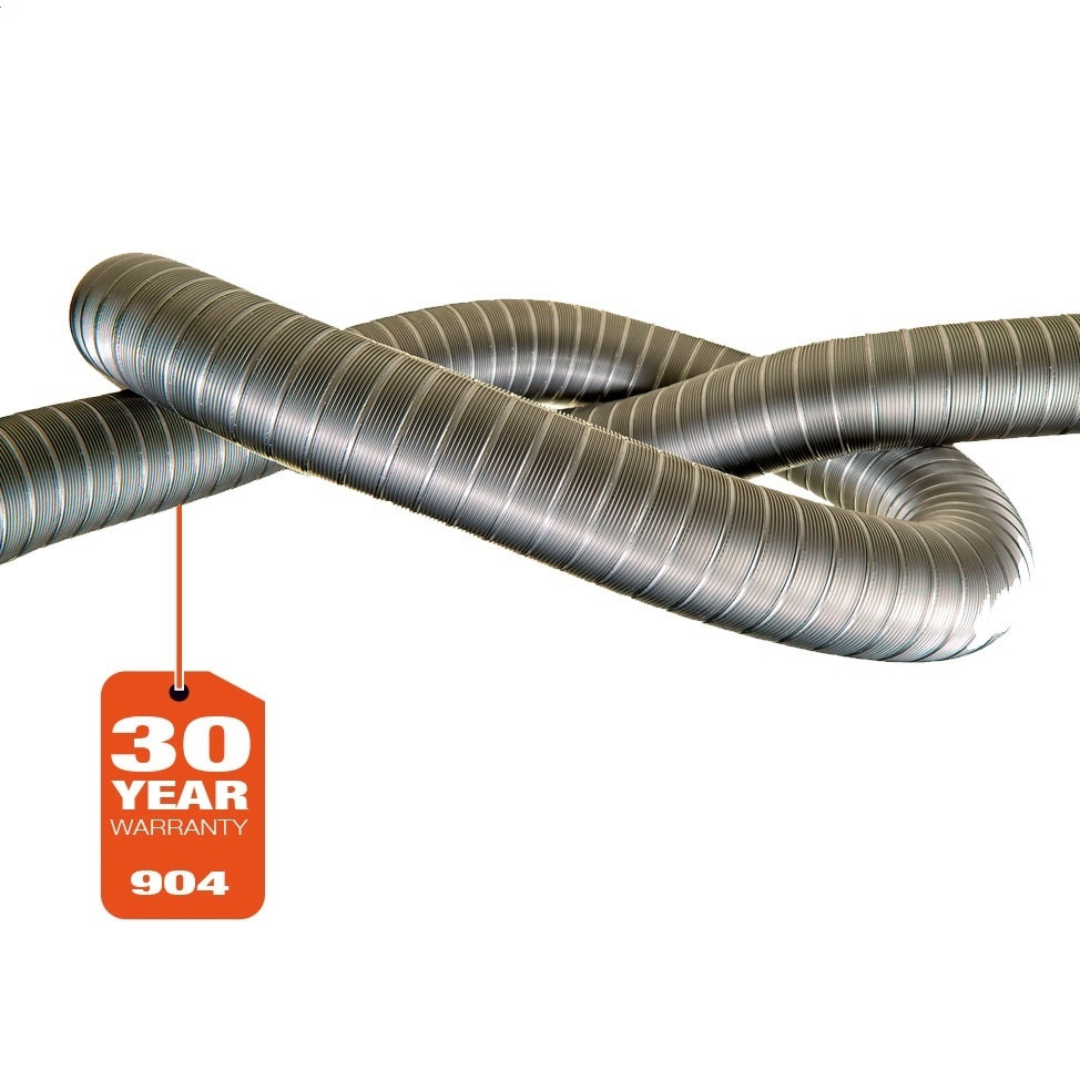 Flexible straight 904 - per mtr. (30 year warranty)