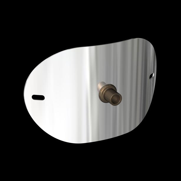 Door With Flow Testing Adapter