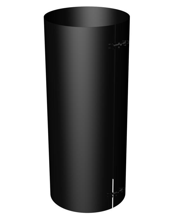 Flat masking shroud 50 cm - Black