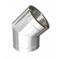 45º elbow with locking band