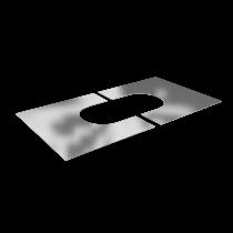 Finishing plate 45 - 60º