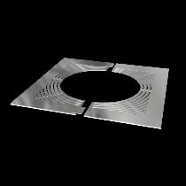 Ventilated firestop plate