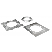 Ventilated firestop support set