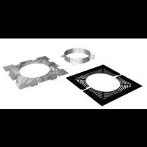 Ventilated firestop support set