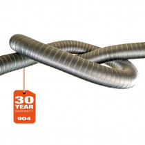 Flexible straight 904 - per mtr. (30 year warranty)