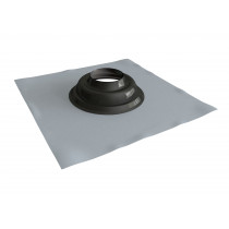 Lead base flashing with rubber cone flashing 0 - 45º