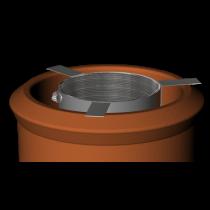 Fixing Bracket For Liner To Pot Hanger Rain Cap 150mm