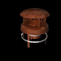Push Fit Pot Hanger Rain Cap (steel or terracotta)