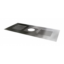 Register Plate - galvanised