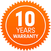 Dinak 10 year warranty